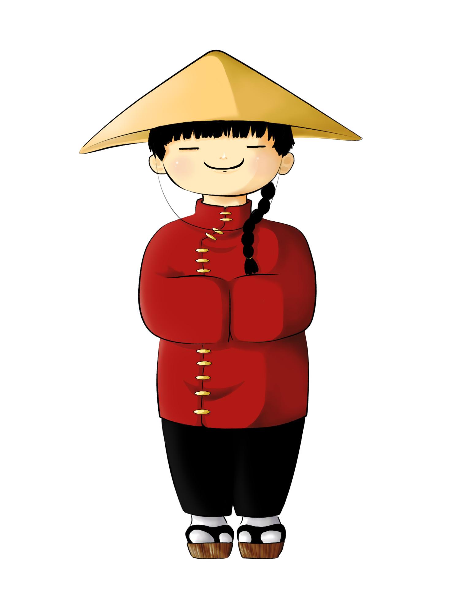 chinese zeichnung