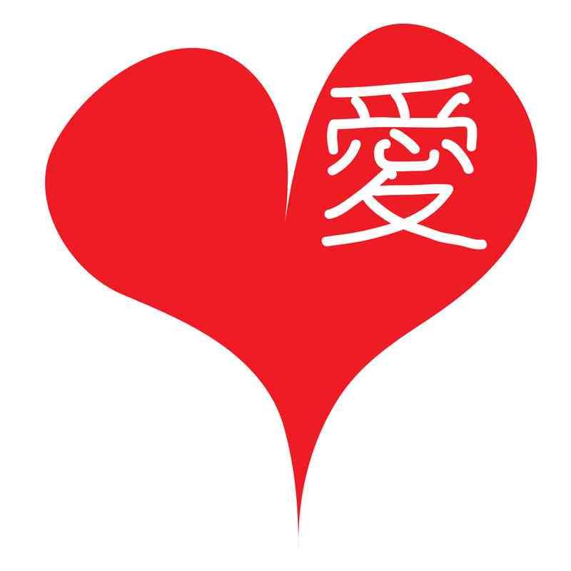 Chinesische Schriftzeichen Fur Liebe Der Chinese