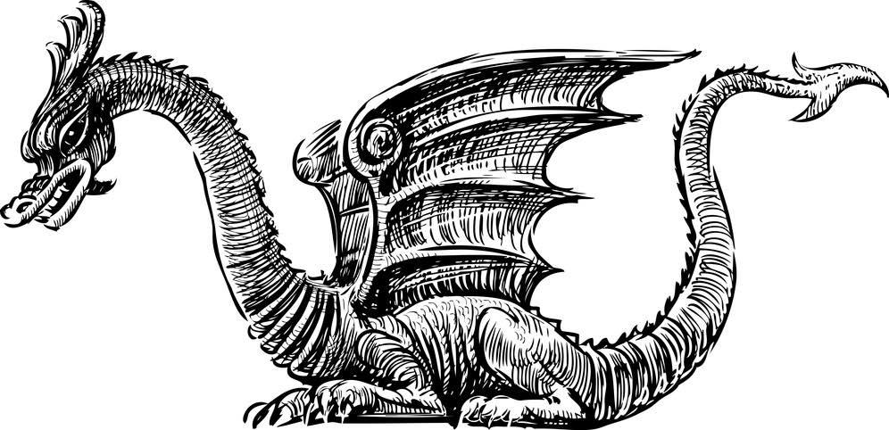 Chinesische Drachen in der chinesischen Mythologie